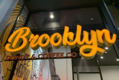 Brooklyn Donut & Coffee - Chermside Shopping Centre - 3D Illuminated & Neon Signs