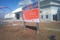 TNT Freight Brisbane billboards