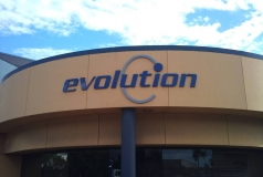 Evolution Signs | 3D Letter Signs Geebung by Fabsigns