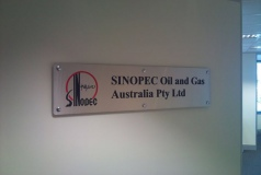 Reception and Office Signage