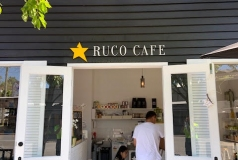 Ruco Cafe Shop Sign
