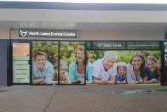 Signage North Lakes Dental Center
