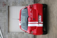 Move Online Small Car Wrap