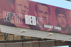 Rugby Queensland Brisbane billboard
