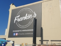 Frankies Smokehouse Woolloongabba Billboard