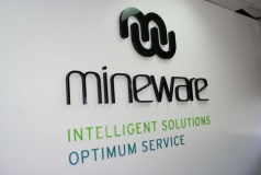 Customised Reception Signage Brisbane
