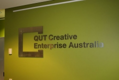QUT Reception Signs