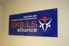 Custom Reception Signage Brisbane