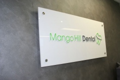 Custom Reception Signs Brisbane