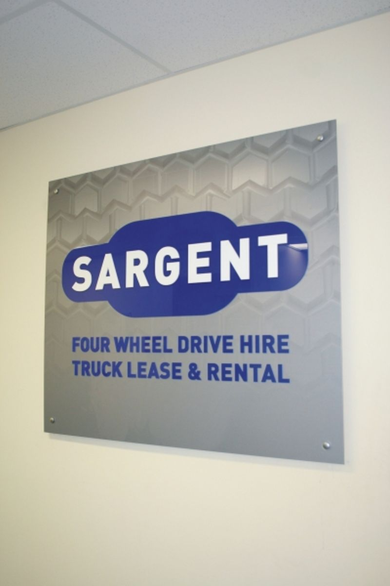 Specialised Reception Signs