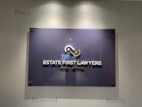 First-Estate-Real-Estate-Wall-Sign-Reception-