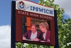 Ipswich State High School LED Sign