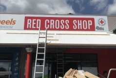 Victoria Point Red Cross Shopfront Sign