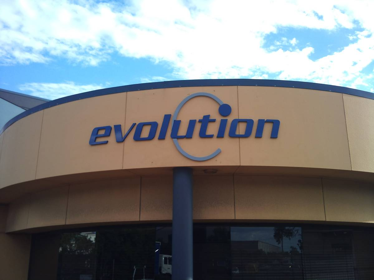 Evolution Signs   3D Letter Signs Geebung by Fabsigns