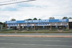 Ferry Road Cycles Shop Signs Gold Coast