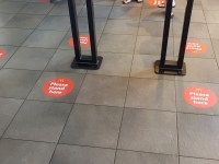 Floor Graphics for Social Distancing by Fabsigns