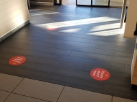 Social Distancing Signs Brisbane by Fabsigns