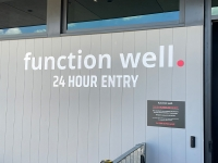 Function Well Toombul 3D Letter Building Sign   Entry Sign