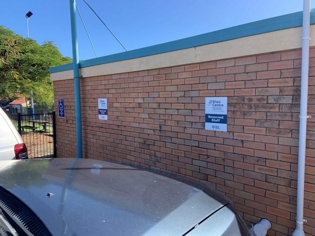 School Car Parking Sign by Fabsigns